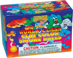 World Class Clay Color Smoke Balls Smoke Items World Class