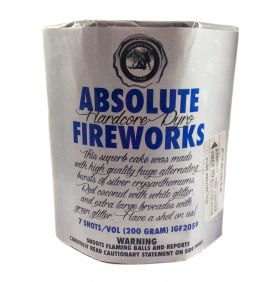 Absolute 200 Gram Aerial Repeaters Hardcore Pyro