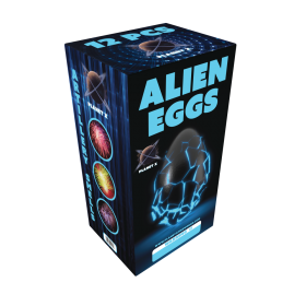 Alien Eggs Artillery Shells Planet X