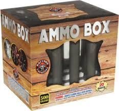 Ammo Box 500 Gram Aerial Repeaters Racoon