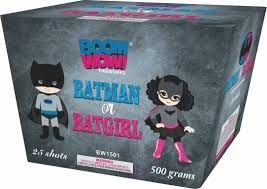 Batman Or Batgirl 500 Gram Aerial Repeaters Boom Wow