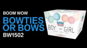 Bowties Or Bows 500 Gram Aerial Repeaters Boom Wow