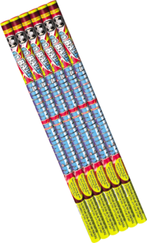 Color Thunder Roman Candles Cuttingedge
