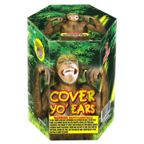 Cover Yo' Ears 200 Gram Aerial Repeaters World Class