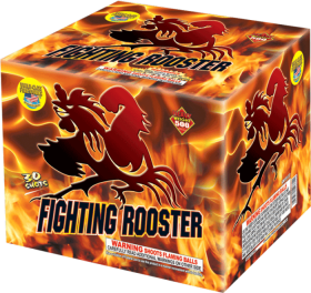 Fighting Rooster 500 Gram Aerial Repeaters World Class