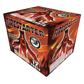 Fire Starter 500 Gram Aerial Repeaters Hardcore Pyro