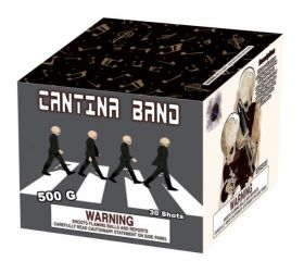 Cantina Band 500 Gram Aerial Repeaters Planet X