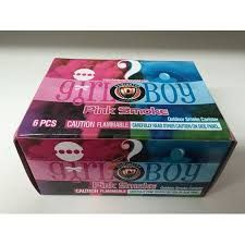 Is it a boy or girl Pink or Blue Smoke Smoke Items Dominator
