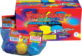 World Class Jumbo Color Smoke Ball Smoke Items World Class
