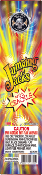 Jumping Jacks With Crackle 6/100 Ground Spinners Cuttingedge
