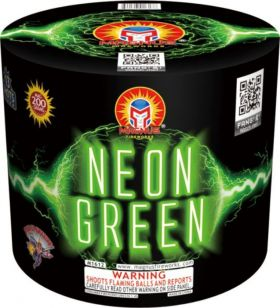 Neon Green 200 Gram Aerial Repeaters Magnus