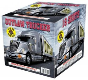 Outlaw Trucker 500 Gram Aerial Repeaters Texas Outlaw