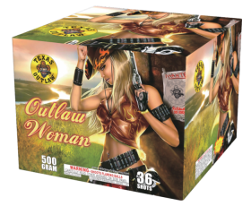 Outlaw Woman 500 Gram Aerial Repeaters Texas Outlaw