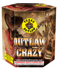 Outlaw Crazy 200 Gram Aerial Repeaters Texas Outlaw
