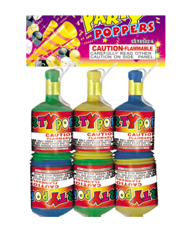 Party Poppers Novelties Cuttingedge