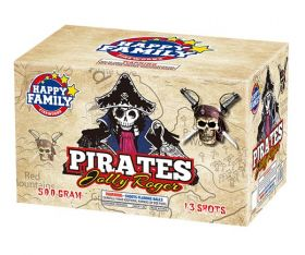 Pirates Jolly Rodger 500 Gram Aerial Repeaters Happy Family