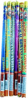 Small Magical 10 Ball Candle Roman Candles Dominator