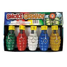 Smoke Grenade 5 multi pack Smoke Items Magnus