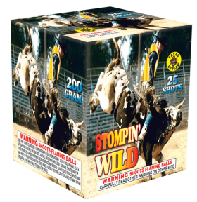 Stompin Wild 200 Gram Aerial Repeaters Texas Outlaw
