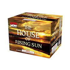 The House Of Rising Sun 500 Gram Aerial Repeaters Boom Wow